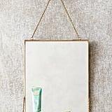Brass Mirror Shelf