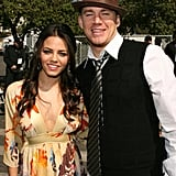 Channing Tatum and Jenna Dewan attended the 2007 Independent Spirit Awards together in February.