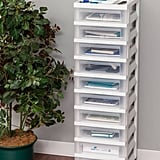 Iris 10-Drawer Rolling Storage Cart