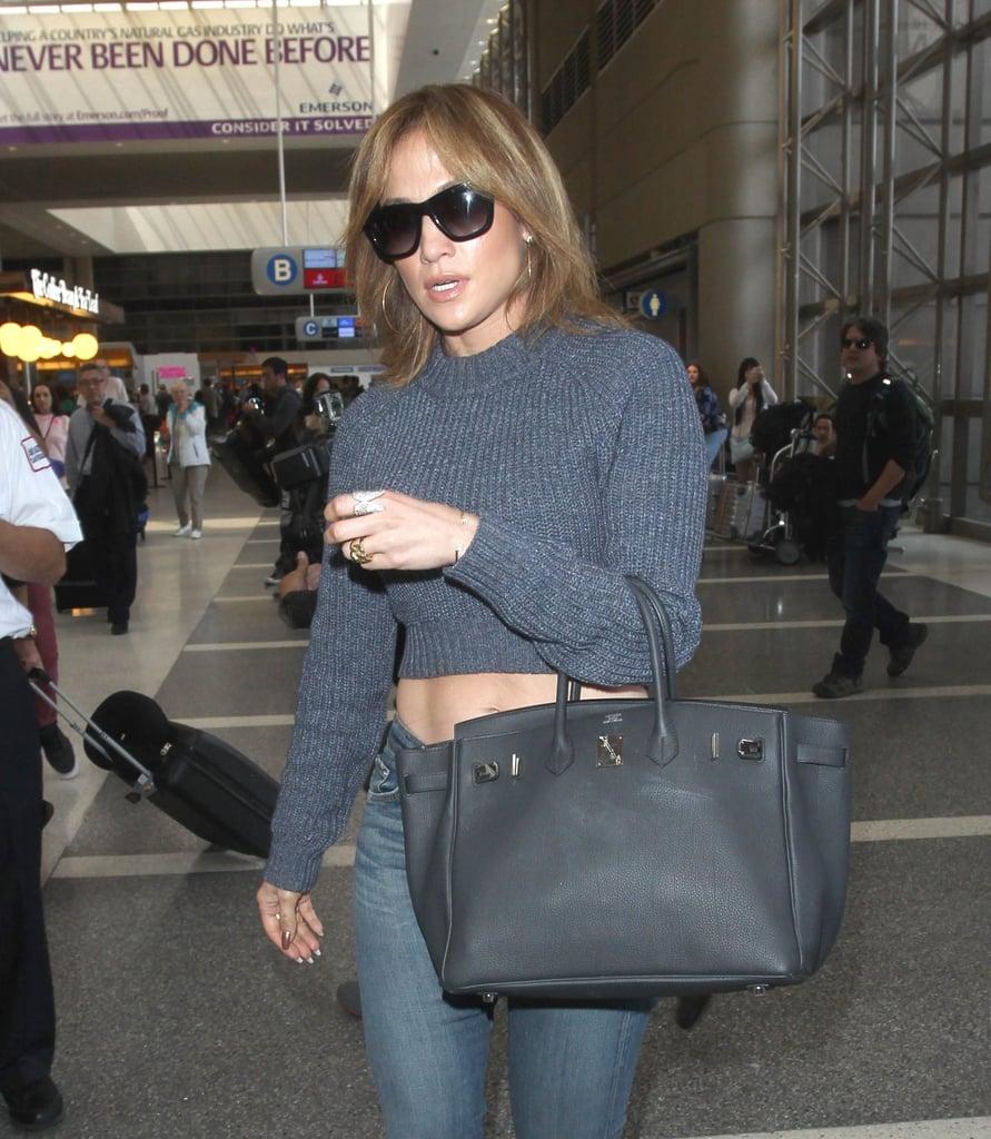 Jennifer Lopez Short Brown Hair Popsugar Beauty Australia