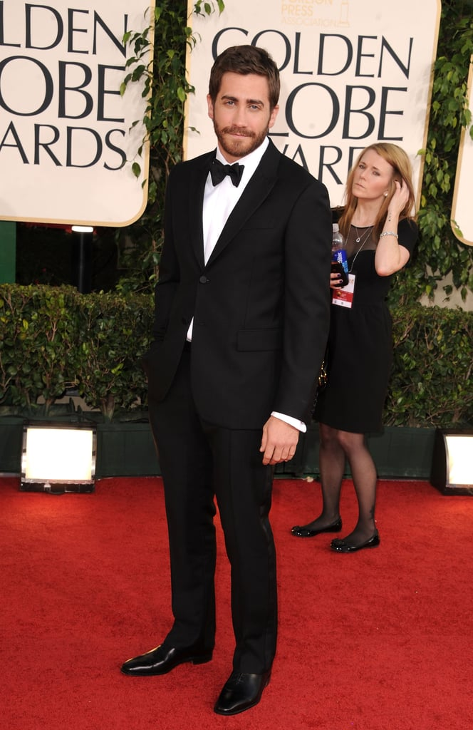 He wore a sleek, sexy tuxedo to the Oscars in 2011.
