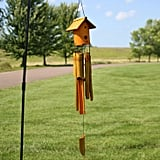 Bamboo Wind Chime With Birdhouse