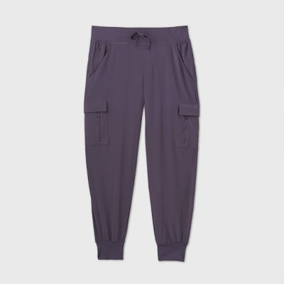 Stretch Woven Cargo Pants