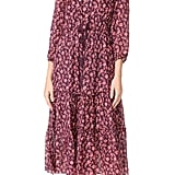 Ulla Johnson Floral Midi Dress