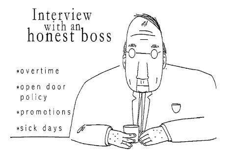 "Ask the ""Honest Boss"""