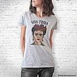 Natura Picta Frida Kahlo Hand Drawn T-Shirt ($22)