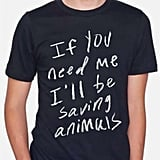 Saving Animals Tee