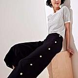 Loft Cropped Wide Leg Sailor Pant