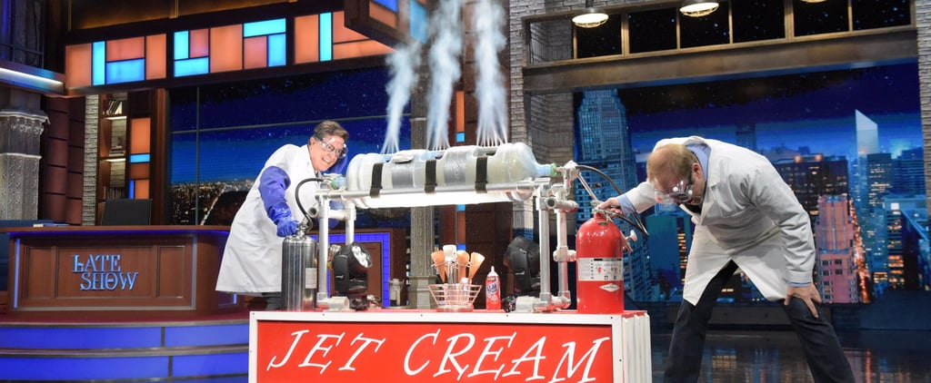 Watch Alton Brown Make the Weirdest Ice Cream You've Ever Seen in Just 10 Seconds