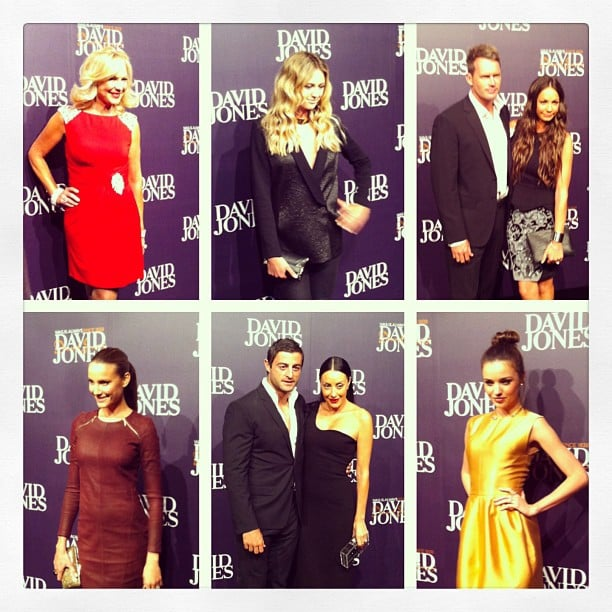 All the pretty celebs Jess spotted on the red carpet ahead of the David Jones Fashion Launch on Wednesday night.