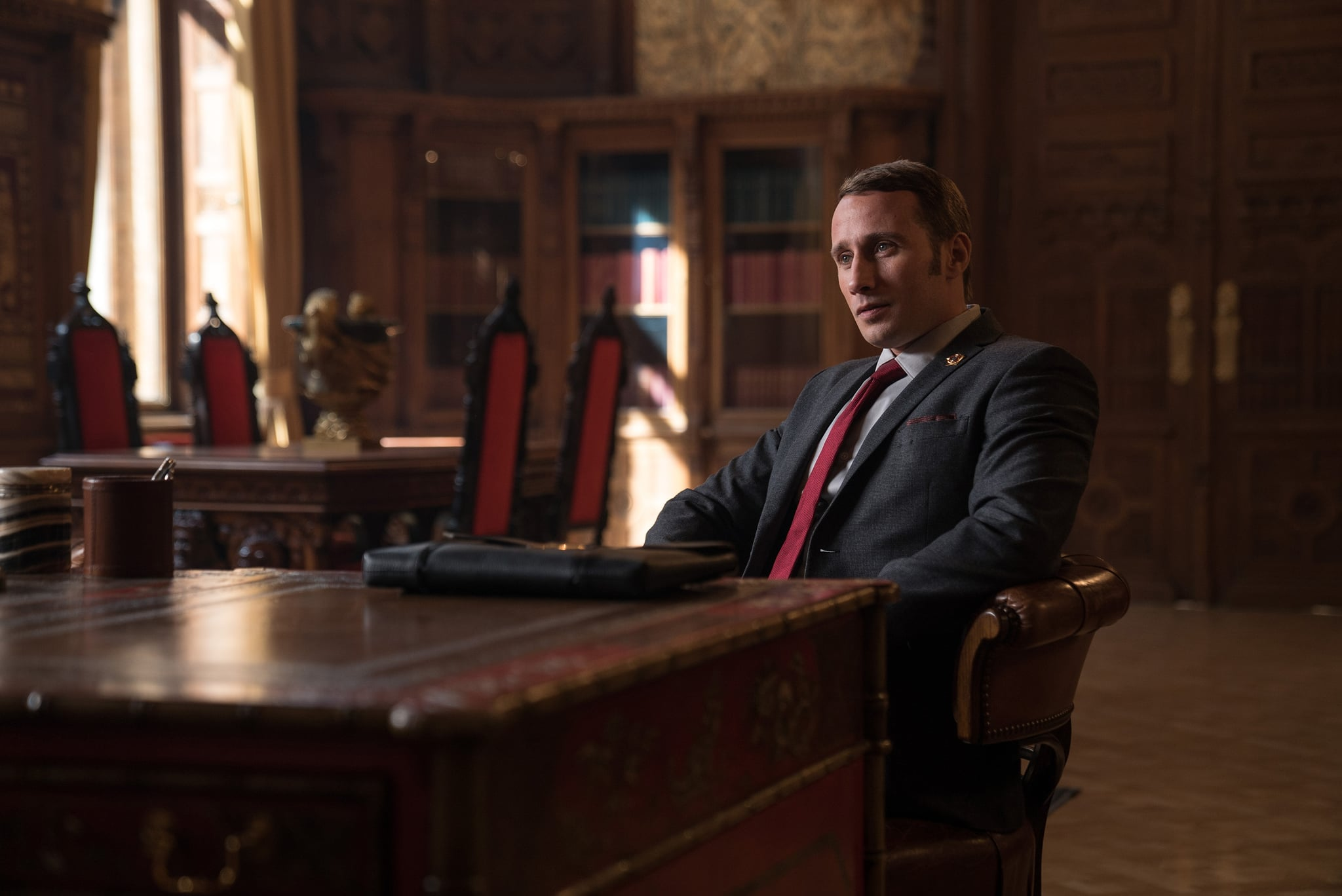 DF-30889 – Matthias Schoenaerts in Twentieth Century Fox's RED SPARROW. Photo Credit: Murray Close.
