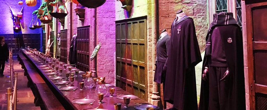 You Should Sit Down Before Looking at the Harry Potter Studio Tour's Halloween Decor