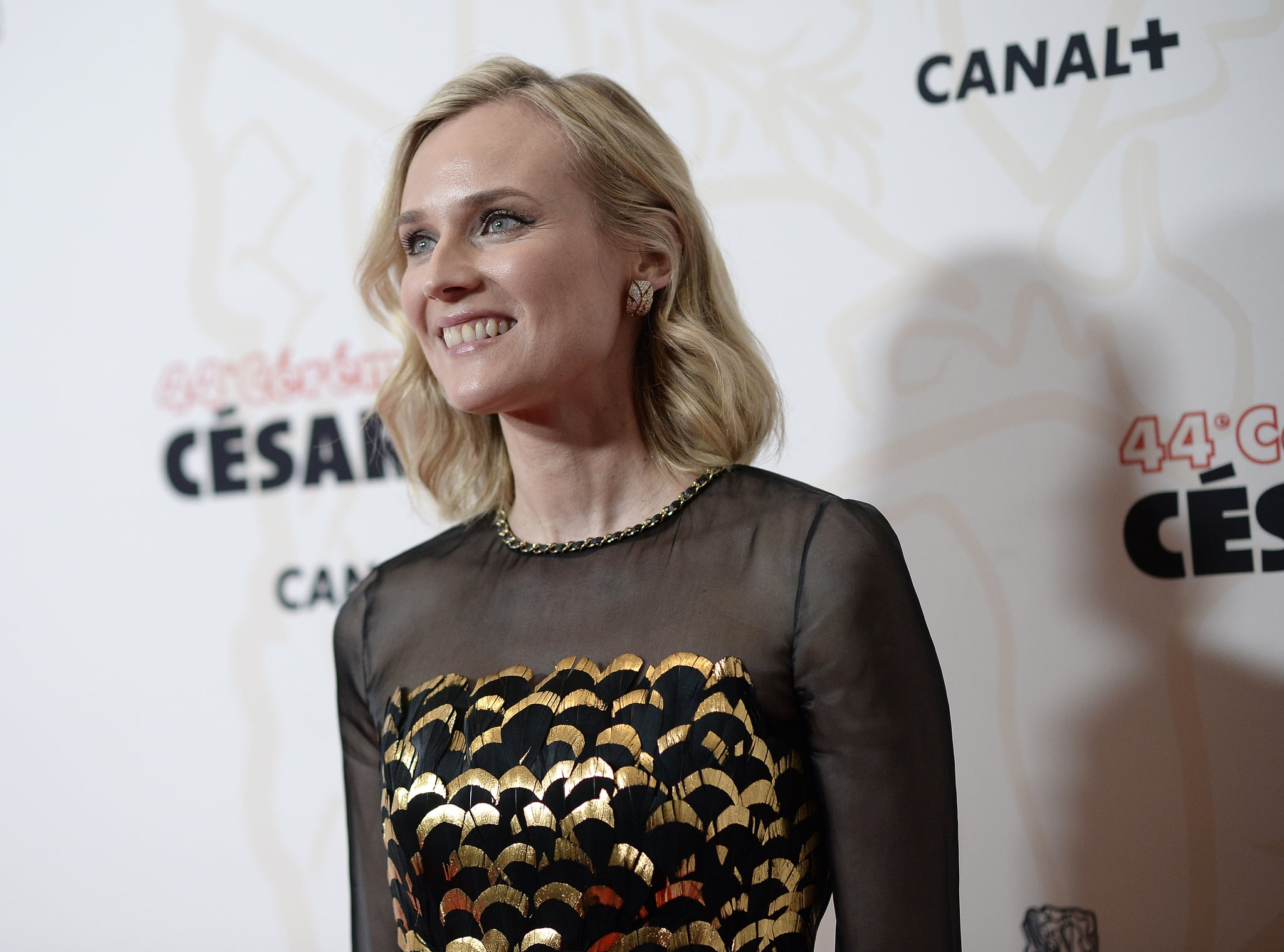 PARIS, FRANCE - FEBRUARY 22: Actress Diane Kruger poses during The Cesar Awards 2019 at Salle Pleyel on February 22, 2019 in Paris, France. (Photo by Francois Durand/Getty Images)
