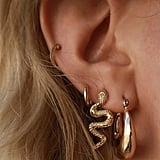 Mini Snake Post Earrings