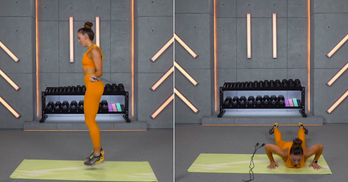 Work Your Legs and Get in Your Cardio With This Trainer's 15-Minute Jump-Rope Workout