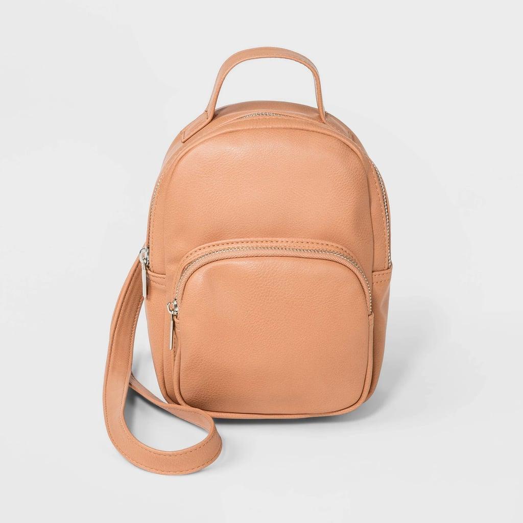 Mini Convertible Backpack to Crossbody Bag