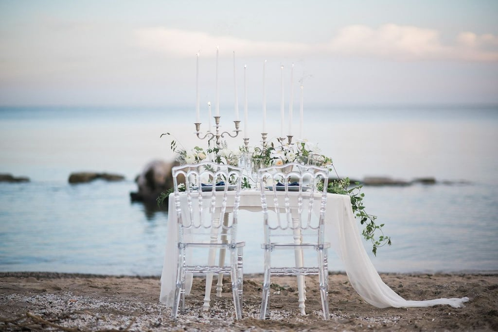 All the Beachy Wedding Inspiration a Mermaid Bride Will Ever Need