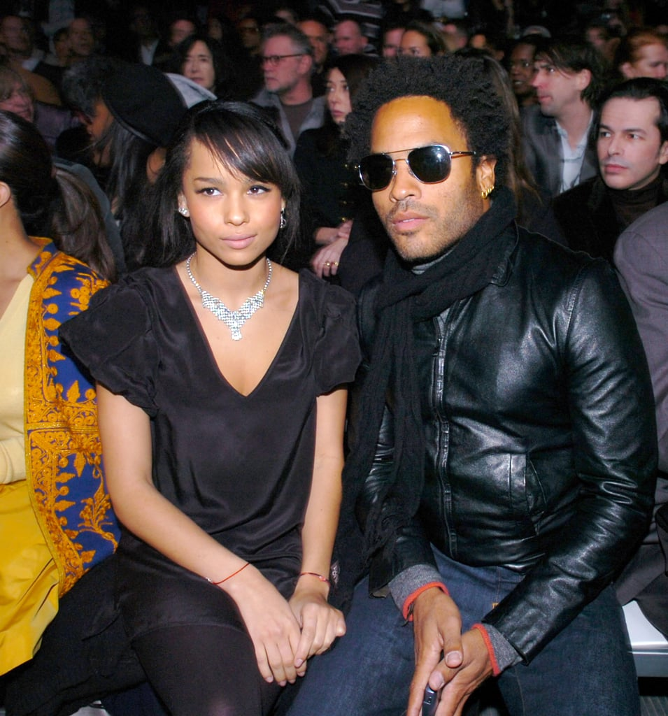 Lenny and Zoë sat front row for the Marc Jacobs NYFW show in February 2007.