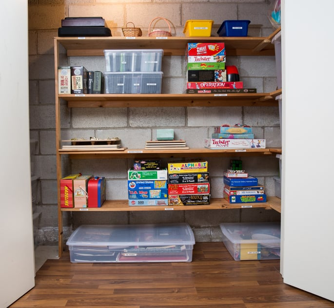 How to Organize Children's Toys