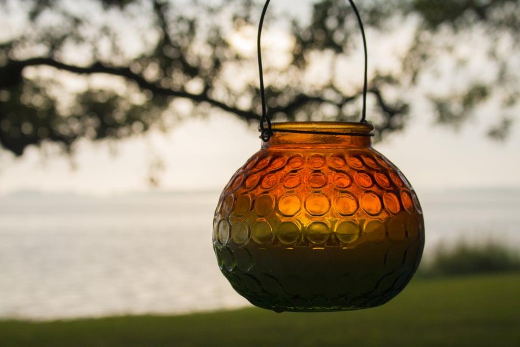 Pour your own citronella candles.