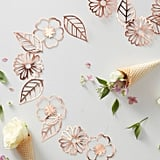 Ginger Ray Rose Gold Foiled Flower Garland
