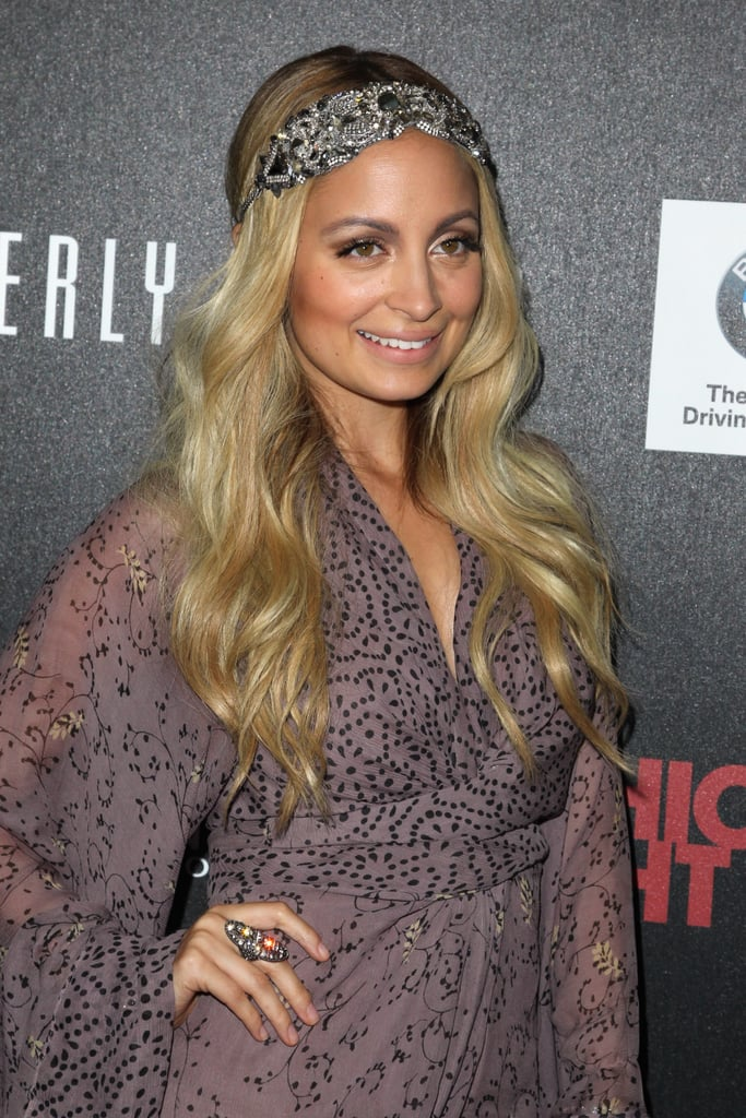 Nicole Richie at Fashion's Night Out in LA.