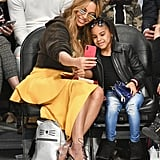 Beyoncé and Blue Ivy Carter Pictures 2018