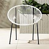 Ixtapa White PVC Lounge Chair