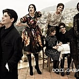 Dolce & Gabbana show off an all-Italian lineup for its Fall ad campaign.