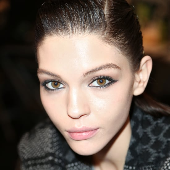 Reem Acra Fall 2014 Hair and Makeup   Runway Pictures