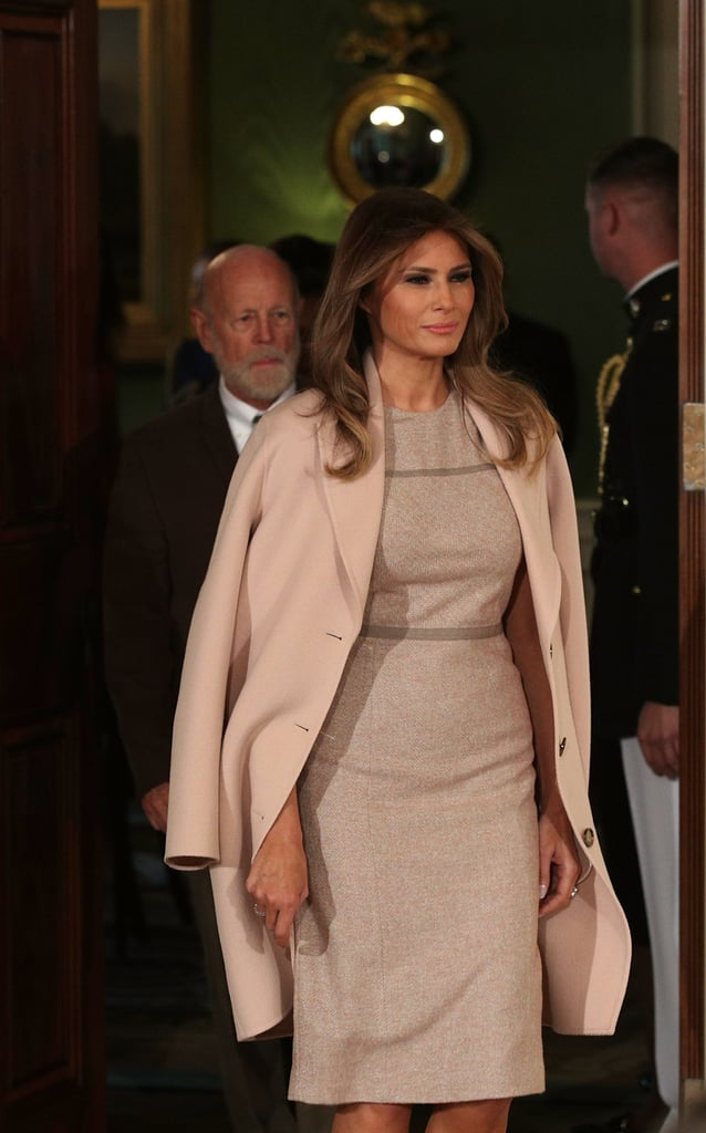 We Know Exactly Where Melania Trump Shops For Her Fall Coats