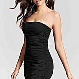 Forever 21 Strapless Ruched Dress