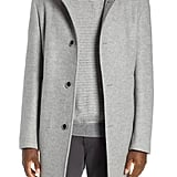 Camden Double Face Wool Blend Coat