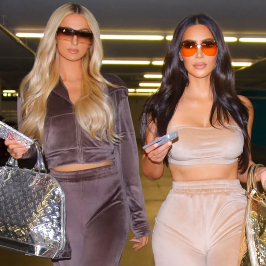 Kim Kardashian, Paris Hilton Skims Velour Collection Photos