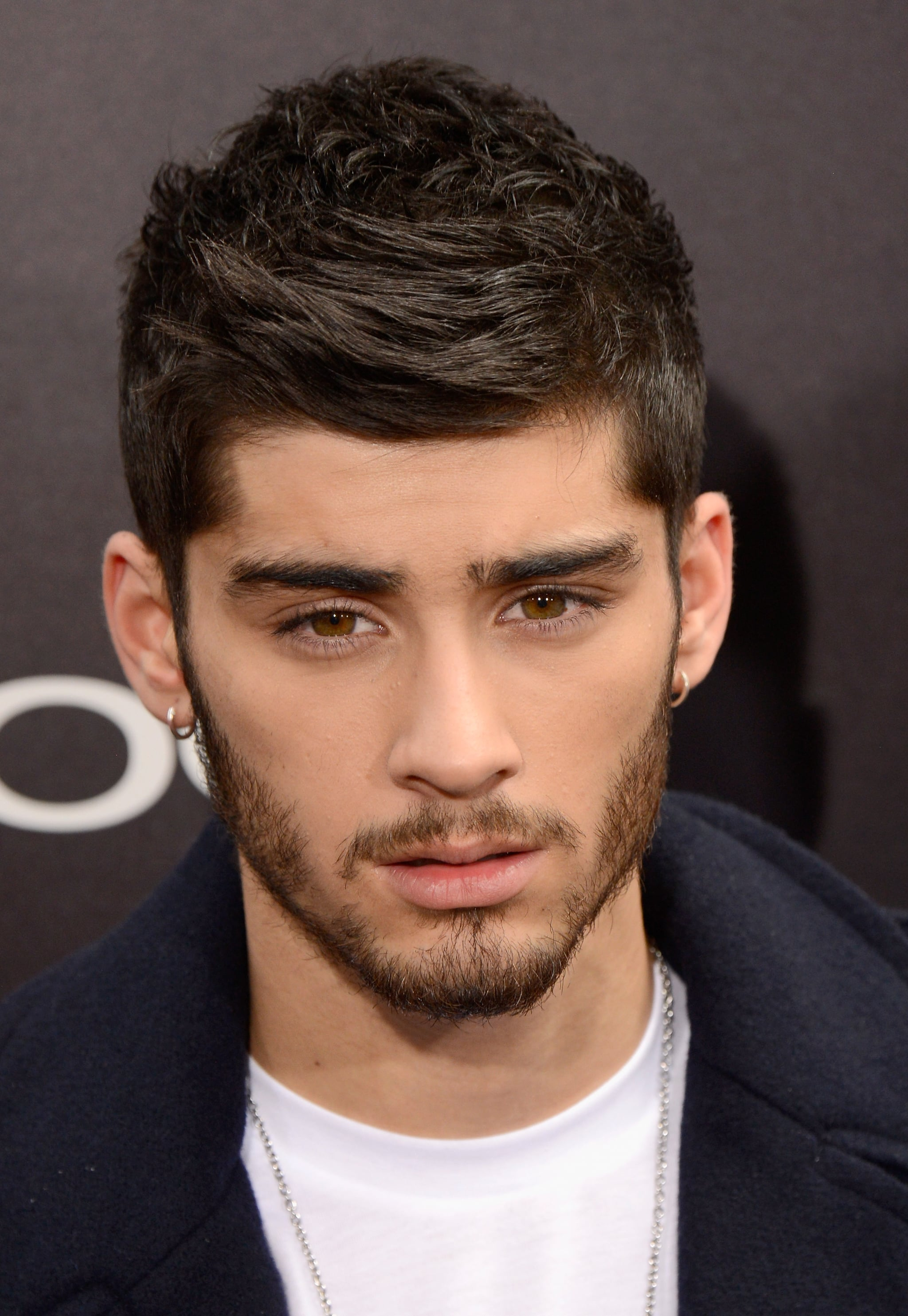 Zayn Malik attended the NYC premiere of the One Direction movie.