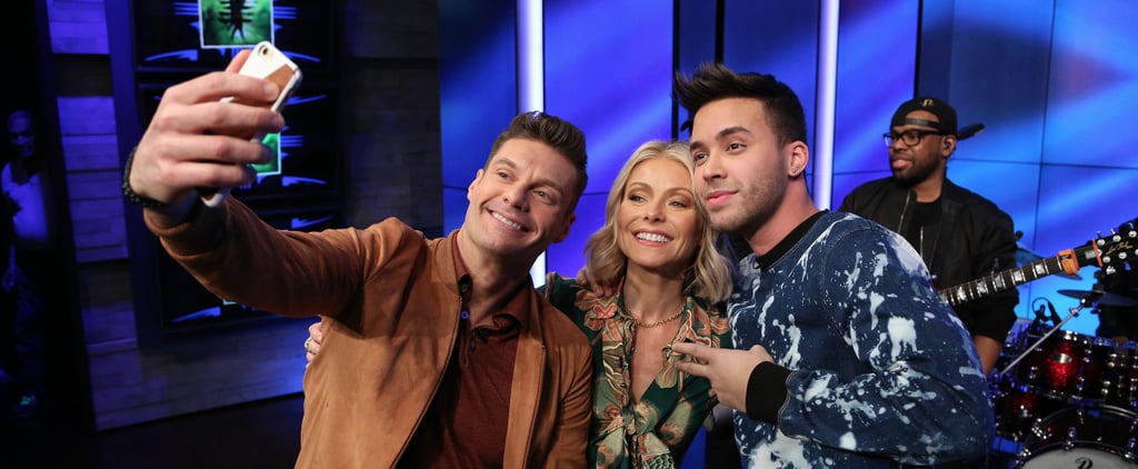 Watching Prince Royce Teach Kelly Ripa and Ryan Seacrest Bachata Will Make You Melt