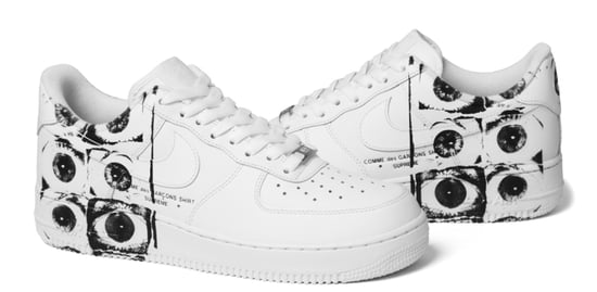 Supreme x Comme des Garcons x Nike Air Force 1 Sneaker