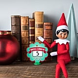 Elf on the Shelf Girl With Dark Skin and Brown Eyes