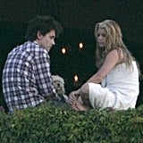 Jessica Simpson and John Mayer had a serious conversation while vacationing in May 2007.