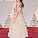 Felicity Jones in Dior Couture Dress at the Oscars 2017