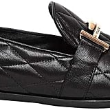 Tod's Double T Quilted Leather Loafers
