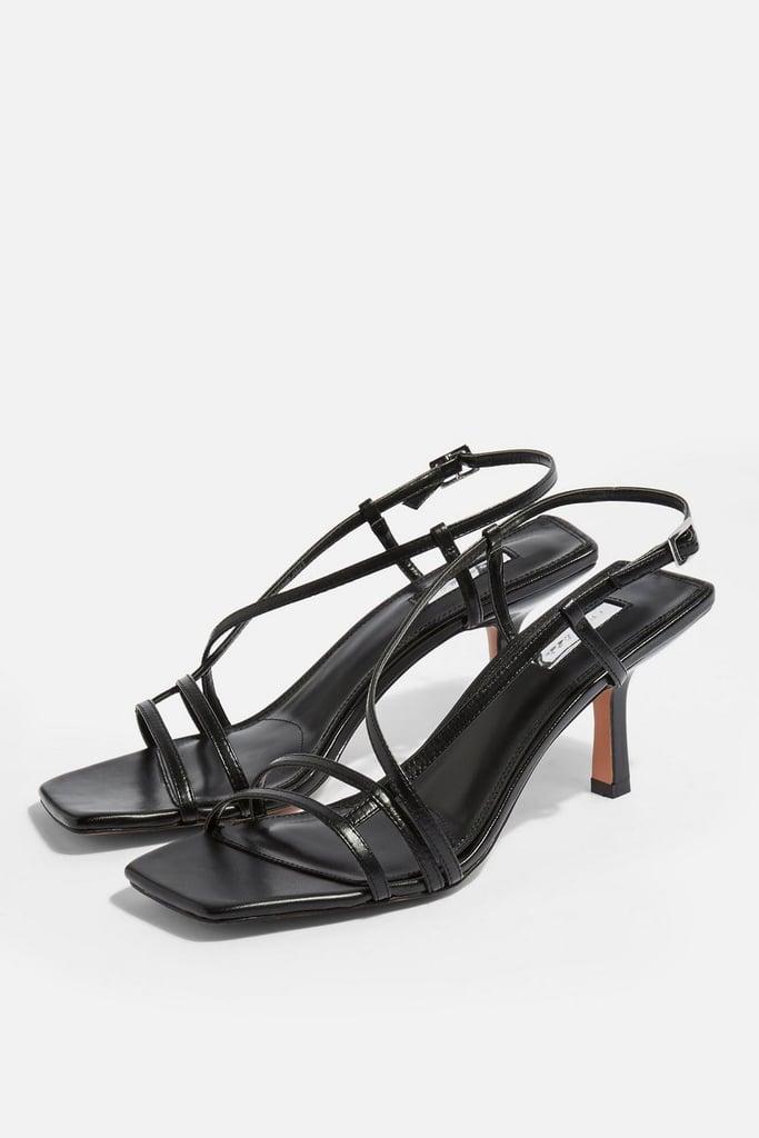 2092c762d Topshop Strippy Heeled Sandals