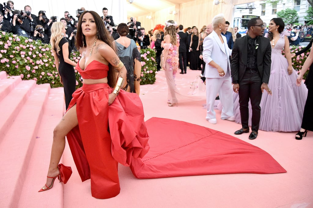 Halsey Went to Her First Met Gala With Bracelets For DAYS, and Wonder Woman Would Be Proud