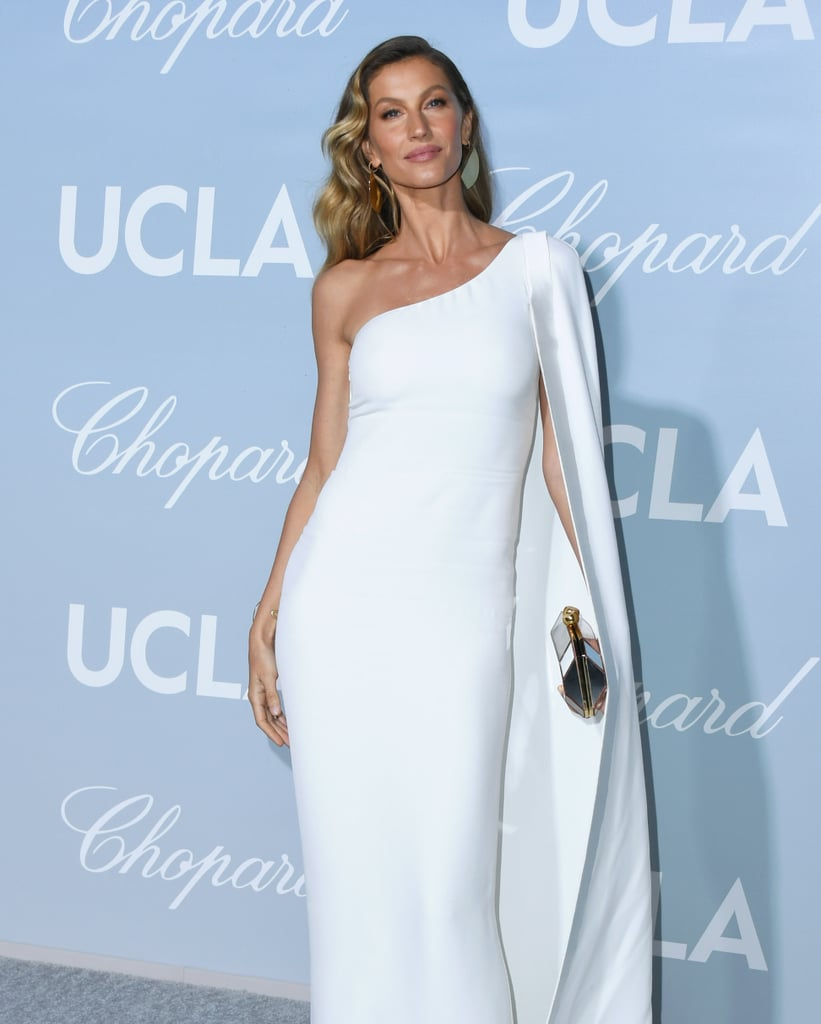 038c17e22fb Gisele Bündchen s White Stella McCartney Dress February 2019 ...