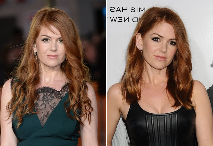 Isla Fisher Haircut | Spring 2016