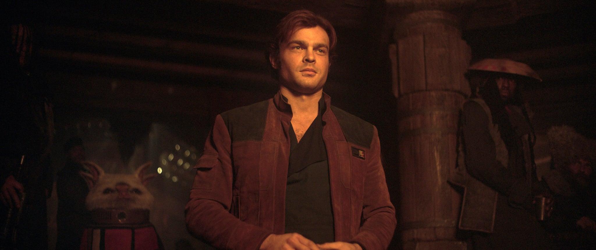 SOLO: A STAR WARS STORY,  Alden Ehrenreich as Han Solo, 2018.  Lucasfilm/  Walt Disney Studios Motion Pictures /Courtesy Everett Collection