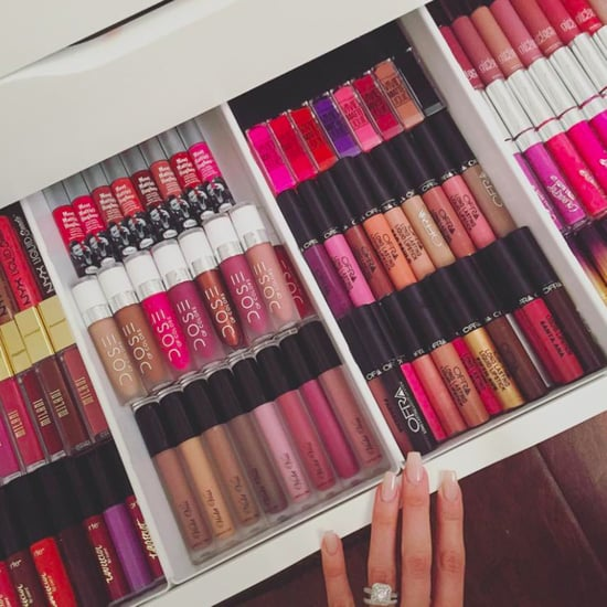 Lipstick Storage Ideas
