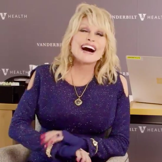 "Dolly Parton Sings ""Jolene"" as She Receives COVID-19 Vaccine"