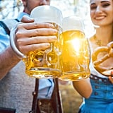 Drink Beer at Oktoberfest in Germany