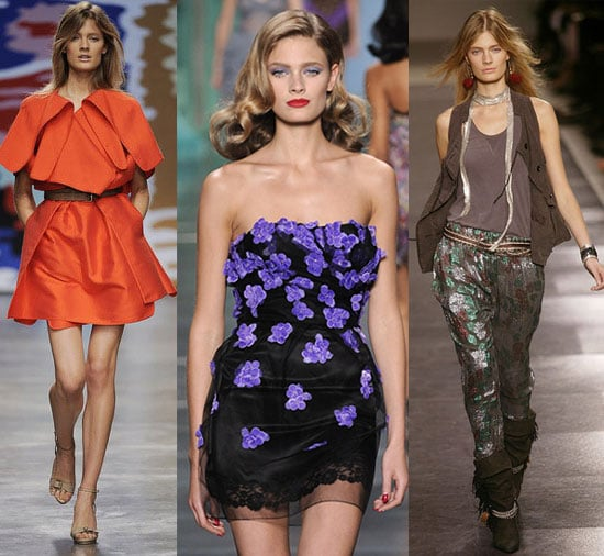 French Model Constance Jablonski Walked 72 Shows During Spring '10 2009-10-22 07:50:22